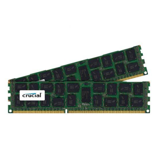 Crucial &#45 16GB: 2x8GB &#45 DDR3 &#45 1600MHz &#45 DIMM 240-pin