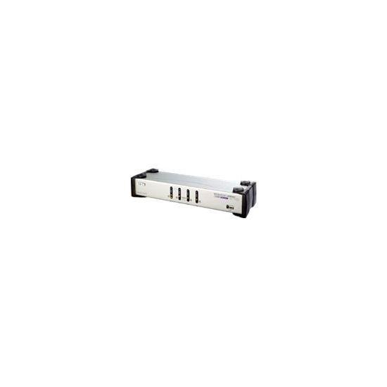 ATEN MasterView CS-1744C Dual-View - KVM / audio / USB switch - 4 porte