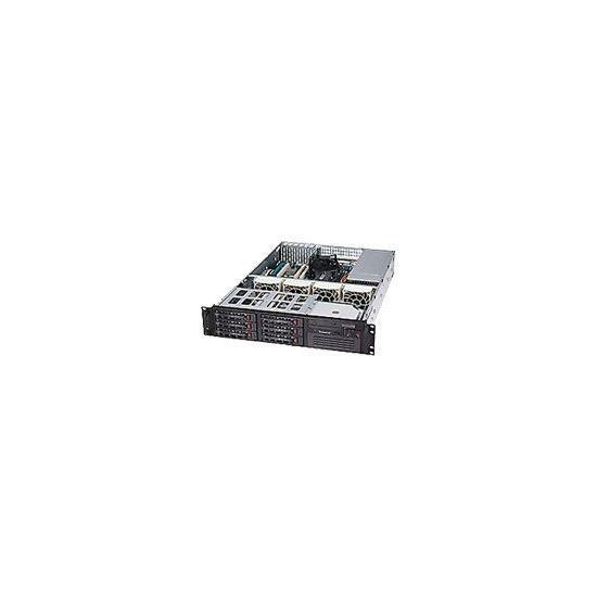 Supermicro SC822 T-400LP - rackversion - 2U - udvidet ATX