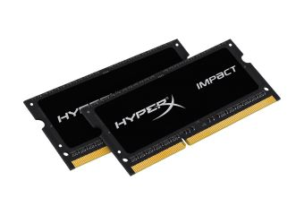 HyperX Impact Black Series &#45 8GB: 2x4GB &#45 DDR3L &#45 1600MHz &#45 SO DIMM 204-PIN