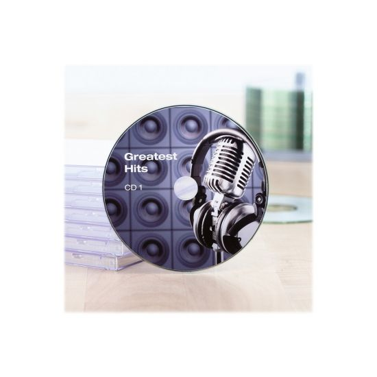 HERMA Special Maxi - CD/DVD etiketter - 20 etikette(r) - 116 mm rund - 120 g/m²