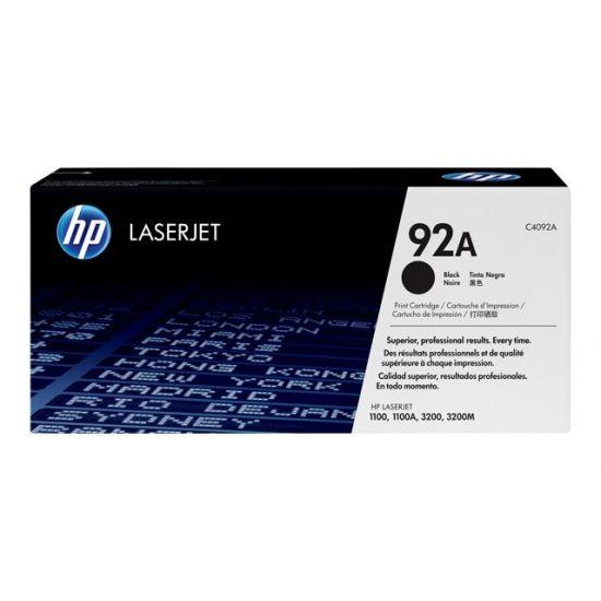 HP 92A - sort - original - LaserJet - tonerpatron (C4092A)