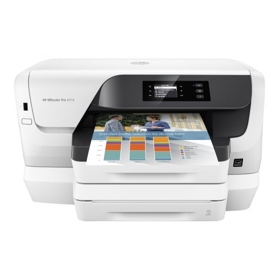 HP Officejet Pro 8218 - printer - farve - blækprinter