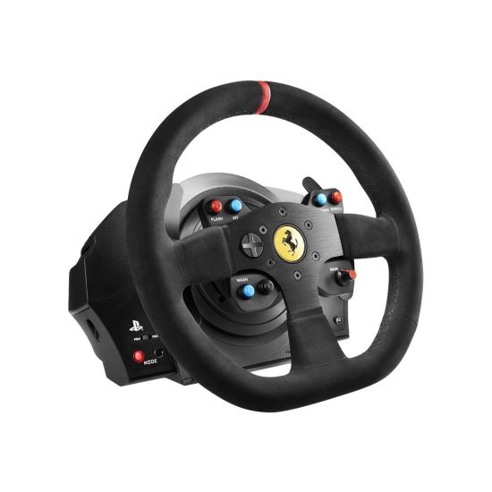 Thrustmaster Ferrari T300 Integral Racing - Alcantara - rat og pedalsæt - kabling