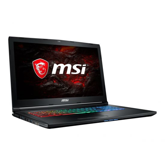MSI GP72MVR 7RFX 609NE Leopard Pro - Intel Core i7 7700HQ - 16 GB DDR4 - 128 GB SSD (M.2) + 1 TB HDD - NVIDIA GeForce GTX 1060 3GB GDDR5 - 17.3""