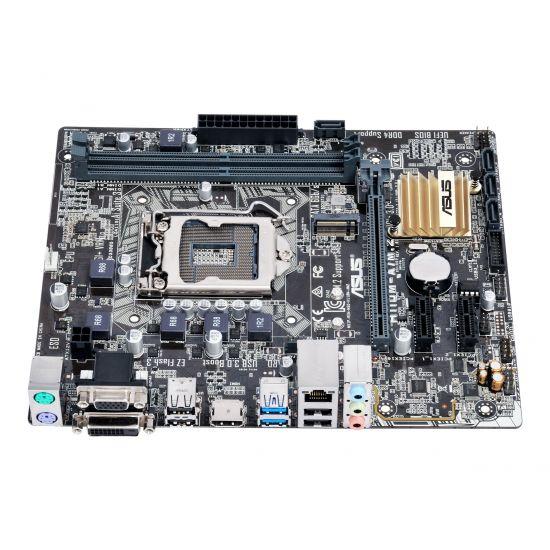 ASUS H110M-A/M.2 - bundkort - micro-ATX - LGA1151 Socket - H110