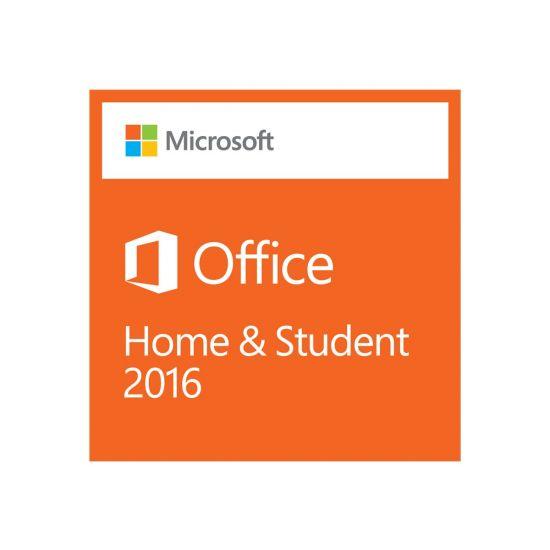 Microsoft Office Home and Student 2016 - bokspakke - 1 PC