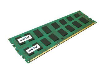 Crucial &#45 8GB: 2x4GB &#45 DDR3 &#45 1333MHz &#45 DIMM 240-pin