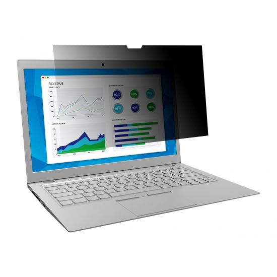 """3M databeskyttelsesfilter til 15"""" Apple MacBook Pro med Retina-display - notebook privacy-filter"""
