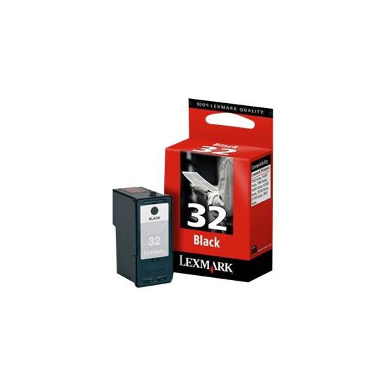 Lexmark Cartridge No. 32 - sort - original - blækpatron
