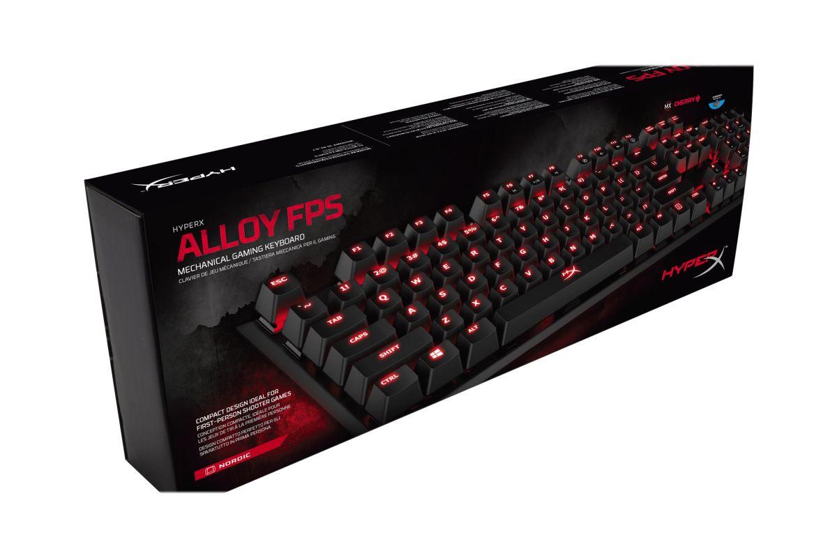 Kingston HyperX Alloy FPS Mechanical Gaming MX Blue
