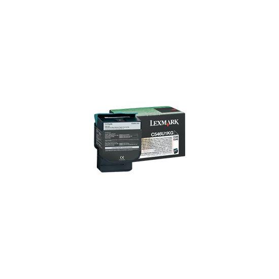 Lexmark - Særlig høj ydelse - sort - original - tonerpatron - LCCP, LRP