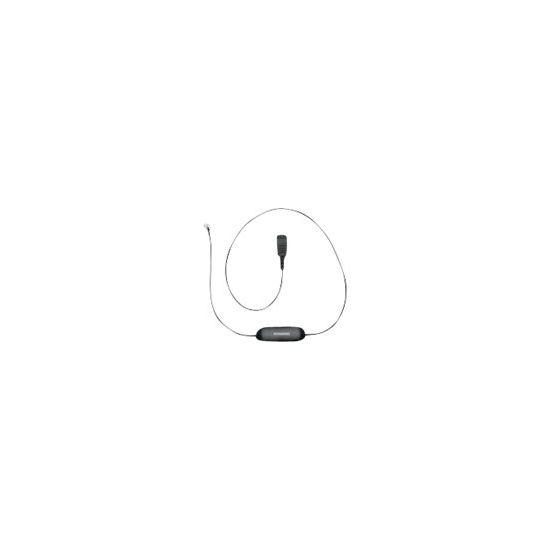 Jabra GN1221 Sound Limiter - kabel til hovedsæt - 80 cm