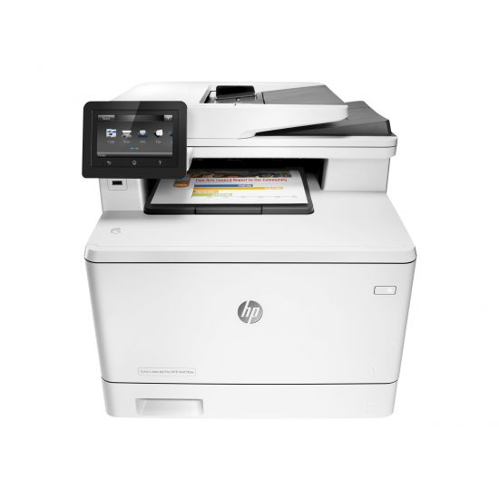 HP Color LaserJet Pro MFP M477fdw - multifunktionsprinter - farve