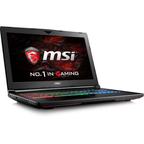"""MSI GP62MVR 7RFX 819NE Leopard Pro - Intel Core i7 7700HQ - 8 GB DDR4 - 256 GB SSD PCIe NVMe + 1 TB HDD - NVIDIA GeForce GTX 1060 3GB GDDR5 - 15.6"""""""
