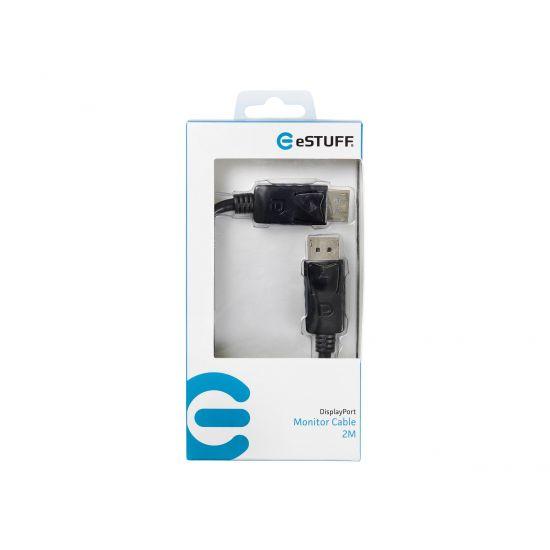 eSTUFF DisplayPort kabel - 2 m