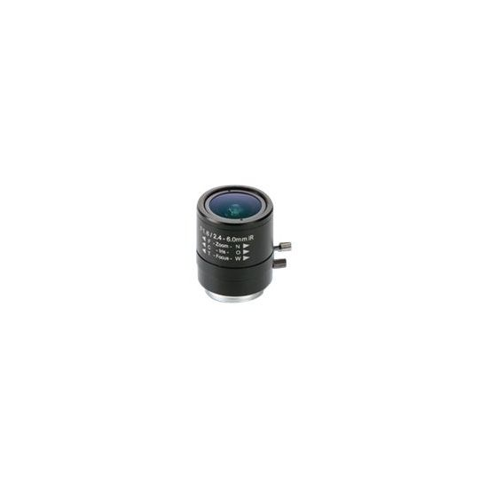 AXIS CCTV objektiv - 2.4 mm - 6 mm
