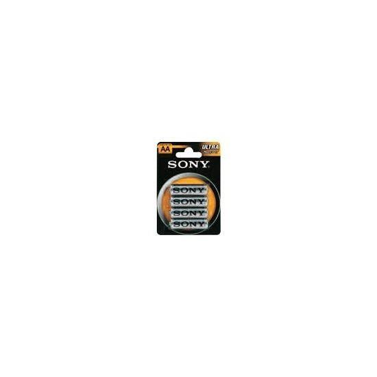 Sony Ultra SUM3NUB4A - batteri - AA type - Kul-zinc x 4