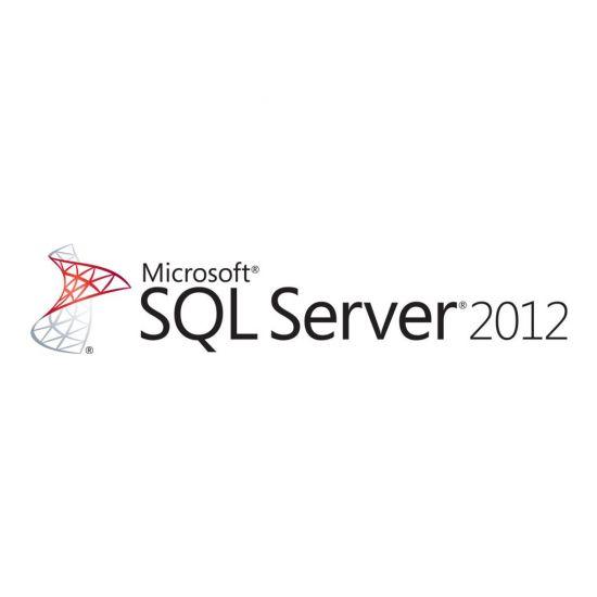 Microsoft SQL Server 2012 Standard - licens