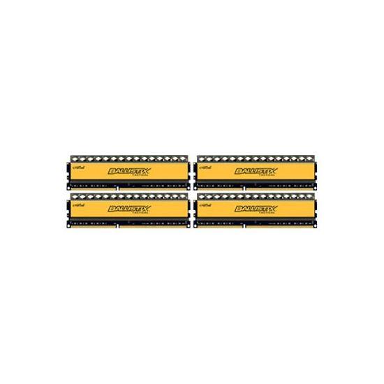 Crucial Ballistix Tactical &#45 32GB: 4x8GB &#45 DDR3 &#45 1600MHz &#45 DIMM 240-pin - CL8