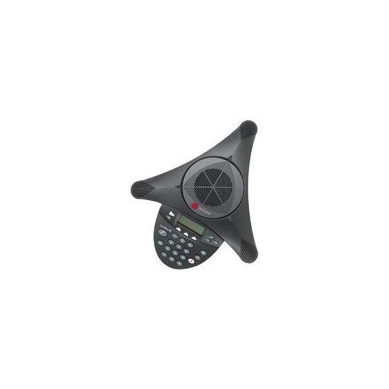 Polycom SoundStation2 - konferencetelefon med opkalds-ID