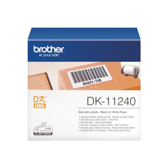Brother DK-11240 - shipping etiketter - 600 etikette(r)