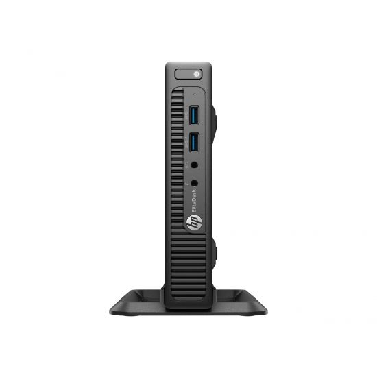 HP EliteDesk 705 G3 - mini desktop - A12 9800E 3.1 GHz - 8 GB - 256 GB