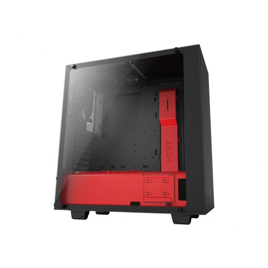 NZXT Source S340 Elite - ATX Sort/rød