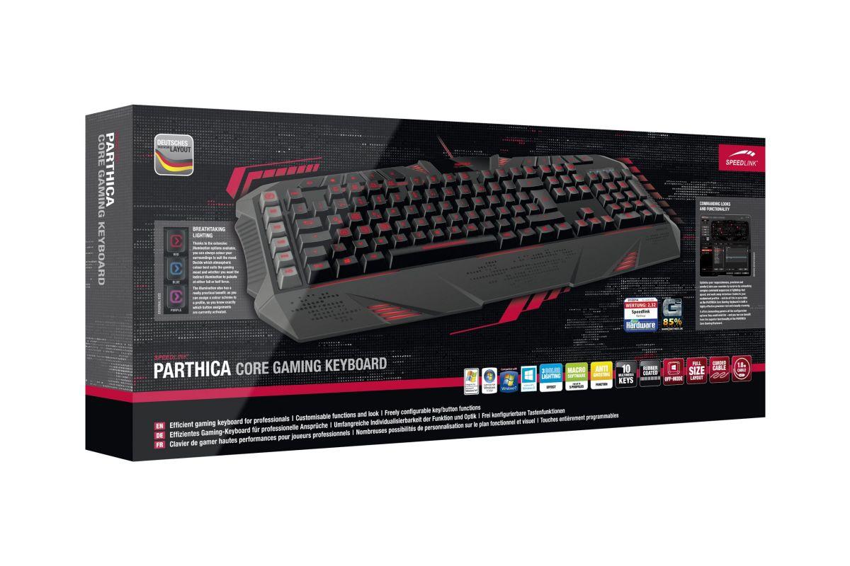SPEEDLINK Parthica Core Gaming Keyboard