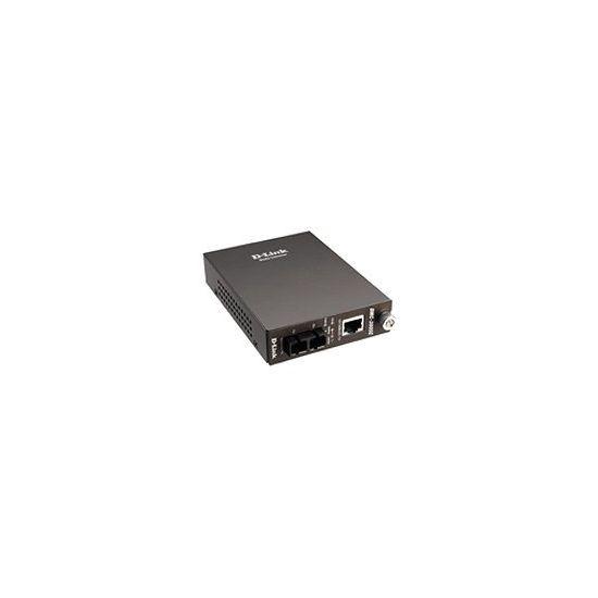 D-Link DMC 300SC - fibermedieomformer - 10Mb LAN, 100Mb LAN