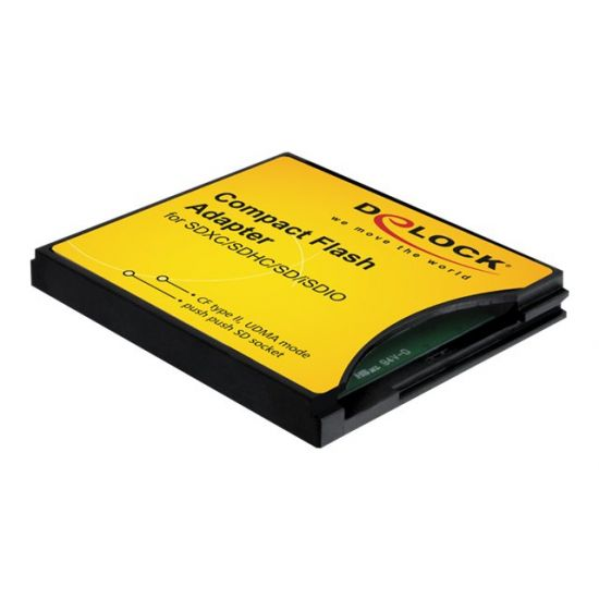 DeLOCK Compact Flash Adapter - kortadapter - CompactFlash