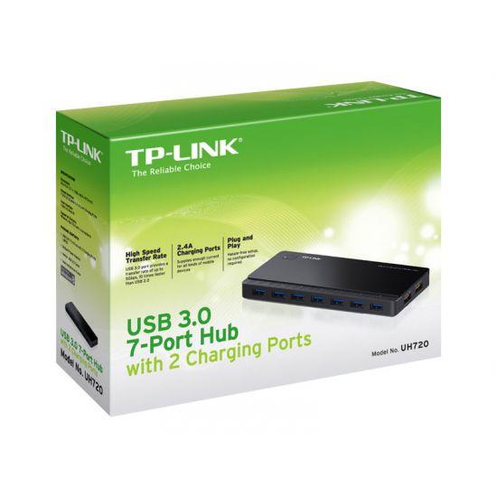 TP-Link UH720 - hub - 7 porte