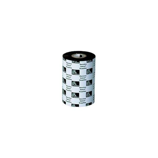 Zebra 3400 Wax/Resin - 1 - sort - farvebånd refill (termisk overføring)