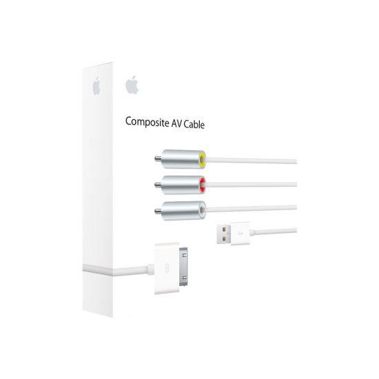 Apple Composite AV Cable - kabel til strøm / audio / video - sammensat video / audio