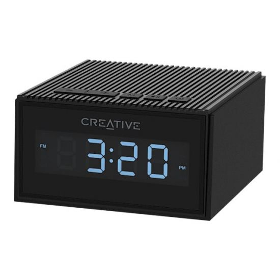 Creative Chrono MF8280 - clock-radio - flash-hukommelseskort, Bluetooth