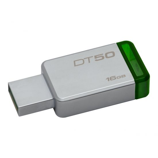 Kingston DataTraveler 50 - USB flashdrive - 16 GB