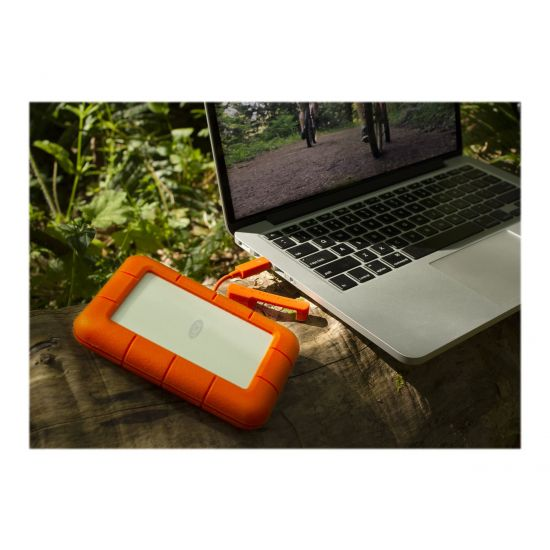 LaCie Rugged Thunderbolt &#45 1TB - USB 3.0   Thunderbolt
