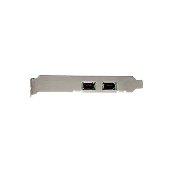 StarTech.com 2 Port 1394a PCI Express FireWire Card - PCIe FireWire Adapter - FireWire adapter