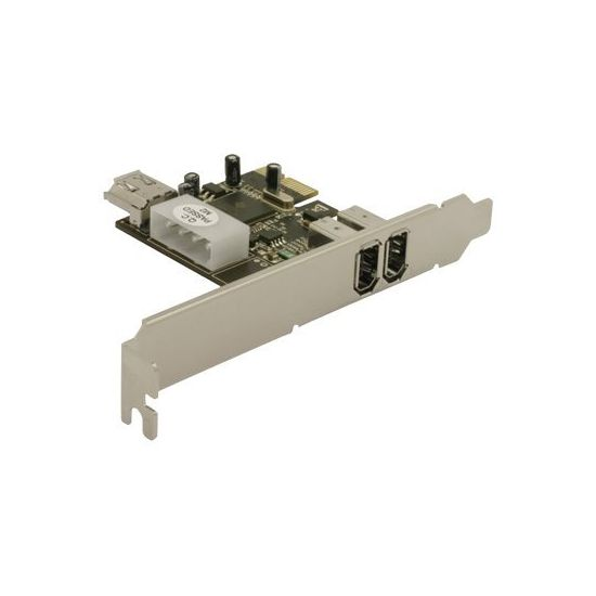 DeLOCK PCI Express Card to 2 x FireWire A - videooptagelsesadapter - PCIe