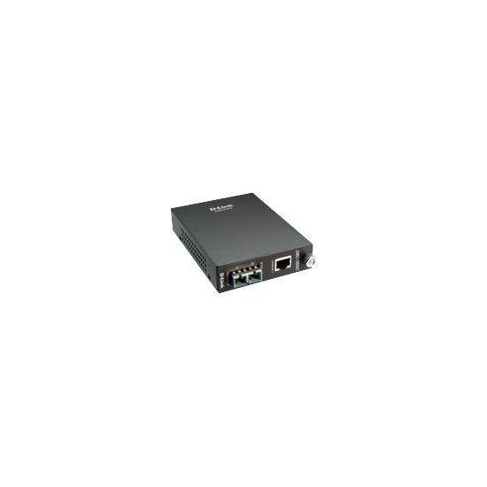 D-Link DMC 700SC - fibermedieomformer - GigE