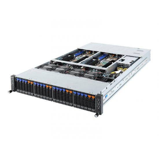 Gigabyte H261-H61 (rev. 100) - rack-monterbar - uden CPU - 0 GB - 0 GB