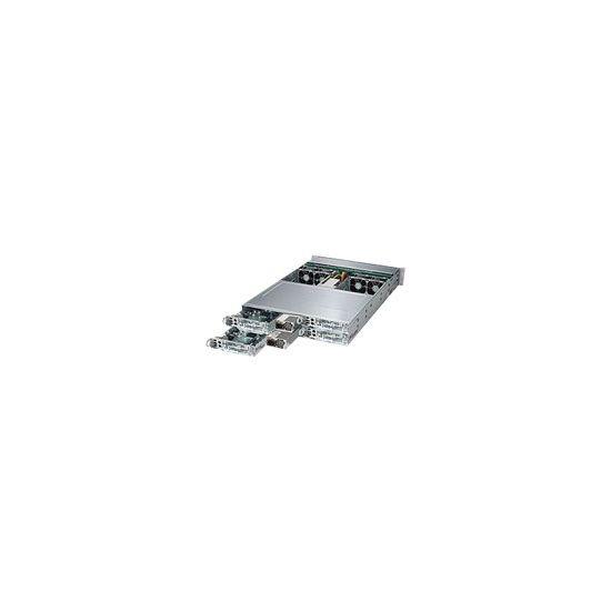 Supermicro SuperServer 6028TP-HTR - rack-monterbar - uden CPU - 0 MB - 0 GB