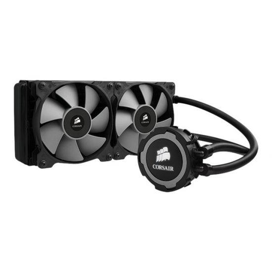 CORSAIR Hydro Series H105 240mm Extreme Performance Liquid CPU Cooler - processor liquid cooling system