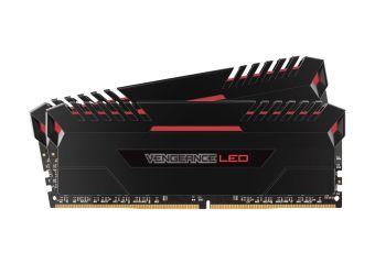 Corsair Vengeance LED &#45 32GB: 2x16GB &#45 DDR4 &#45 3000MHz &#45 DIMM 288-PIN