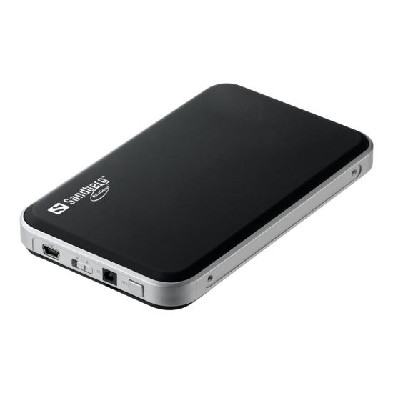 Sandberg USB 2.0 Hard Disk Box SATA 2.5 - lagringskontrol - SATA 3Gb/s - USB 2.0