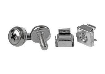 StarTech.com 50 Pkg M5 Mounting Screws & Cage Nuts for Server Rack Cabinet