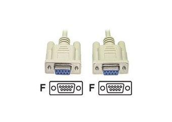 Deltaco nulmodem-kabel