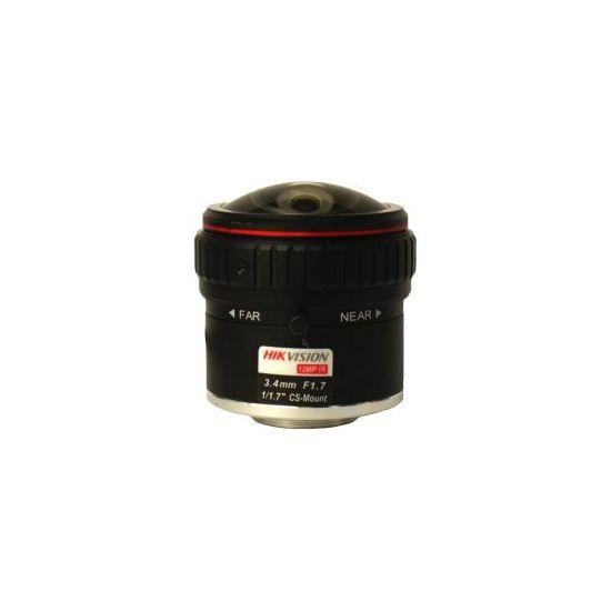 Hikvision HF3417D-12MPIR - CCTV objektiv - 3.4 mm