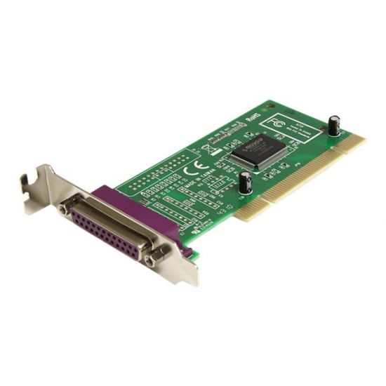 StarTech.com 1 Port Low Profile PCI Parallel Adapter Card - parallel adapter