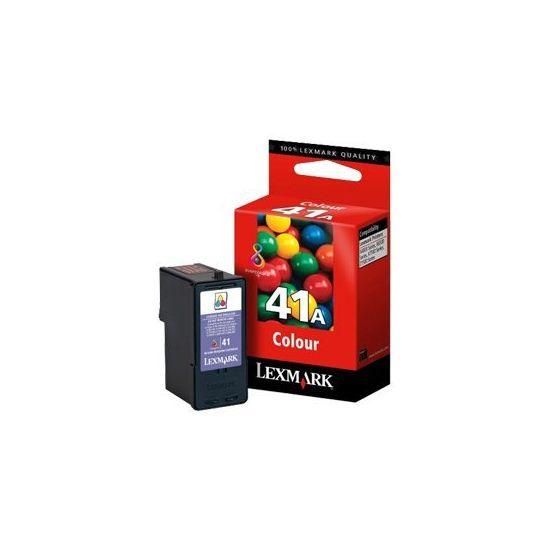 Lexmark Cartridge No. 41A - farve (cyan, magenta, gul) - original - blækpatron